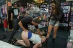 Danielle Delaunay Fucked in Sex Shop - Kink/ PublicDisgrace (2013/ HD 720p)