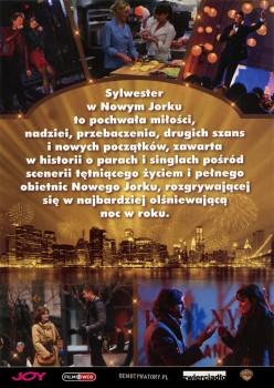 Tył ulotki filmu 'Sylwester W Nowym Jorku'