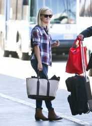 Reese Witherspoon - at LAX Airport 9/16/13