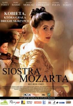 Przód ulotki filmu 'Siostra Mozarta'