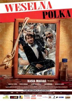 Przód ulotki filmu 'Weselna Polka'