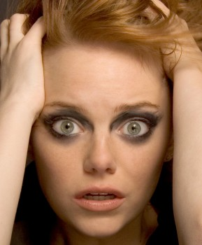 Emma Stone - more new outtakes from that wierd 2010 Allure photoshoot