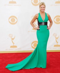 Nancy O'Dell 65th Annual Primetime Emmy Awards September 22, 2013 HQ x 10