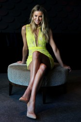 Jennifer Hawkins - Australia's Next Top Model Finale photocall in Sydney 9/23/13