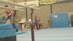 McKayla Maroney Practicing Her Floor Routine in The Netherlands - September 22, 2013