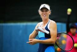 Caroline Wozniacki - Toray Pan Pacific Open Day 3 in Tokyo 9/24/13