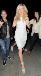 Ellie Goulding - Arriving to Samsung's Galaxy Note 3 Launch in London 9/24/13