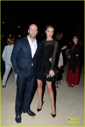 Rosie Huntington-Whiteley - Azzedine Alaia Fashion Show in Paris 9/25/13