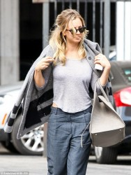 Kaley Cuoco - on the set of 'The Wedding Ringer' in LA 9/24/13