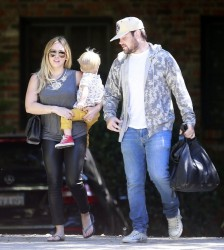 Hilary Duff - Out in Beverly Hills 9/26/13