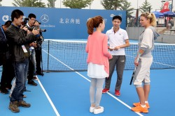 Maria Kirilenko - 2013 China Open Day 1 in Beijing 9/28/13