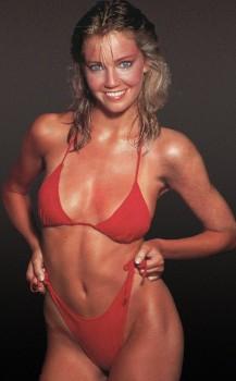 Heather Locklear: Sexy Red Bikini 80's: HQ x 1