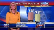 Caitlin Roth -weatherperson- Fox29 Philadelphia PA Sep 28 2013