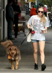 Amanda Seyfried - out in NYC 10/3/13