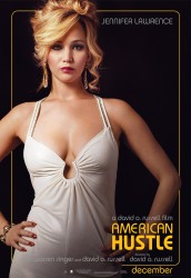 Jennifer Lawrence - Sexy Poster For American Hustle