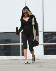Ali Larter - leaving yoga class in Hollywood 10/3/13