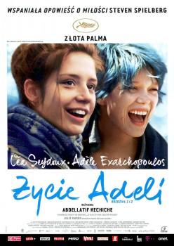 Przód ulotki filmu 'Życie Adeli: Rozdział 1 i 2'
