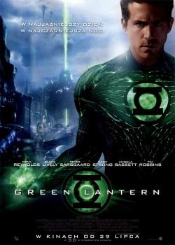 Przód ulotki filmu 'Green Lantern'