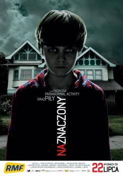 Polski plakat filmu 'Naznaczony'