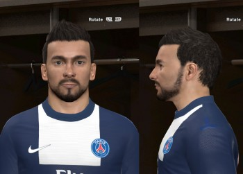 download Lavezzi Face by GenialIdiot For PES 2014