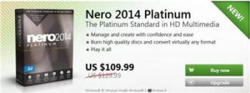Nero 2014 Platinum 15.0.02200 Multilingual ESD | Online Retail Version(Nov-27-2013)