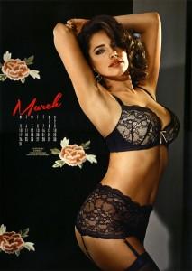 Rachel Stevens 2014 Calendar