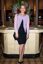 Kylie Minogue - 'APREC' cancer research association benefit auction dinner in Paris 10/14/13