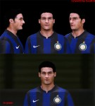 download PES 2014 J. Zanetti face (texture fixed) by IssaK.G