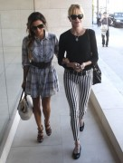 Eva Longoria & Melanie Griffith - Hanging out in Beverly Hills 10/17/13