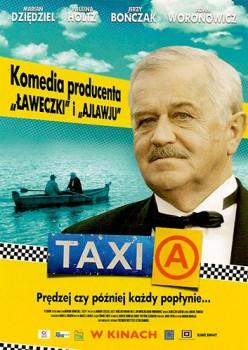 Przód ulotki filmu 'Taxi A'