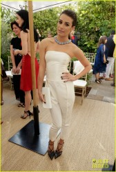 Lea Michele - 2013 CFDA & Vogue Fashion Fund Event in West Hollywood 10/23/13