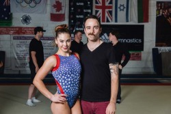 McKayla Maroney on the Set of Her Adidas Gymnastics Photoshoot in Los Angeles on May 24, 2013