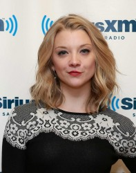 Natalie Dormer - at SiriusXM Studios in NYC 10/23/13