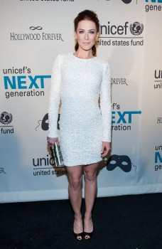 6fc77a285802238 Bridget Regan – UNICEF Masquerade Ball in New York