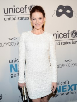 d11b35285802198 Bridget Regan – UNICEF Masquerade Ball in New York