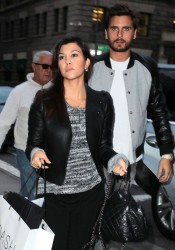 Kourtney Kardashian - Out in NYC 11/5/13