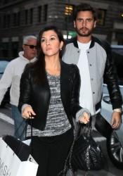 Kourtney Kardashian - Out in NYC 11/5/13