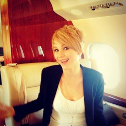 Jennifer Lawrence - Pixie Hair Cut