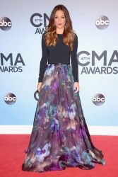Jana Kramer - CMA Awards in Nashville 11/6/13