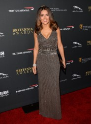 Salma Hayek - 2013 BAFTA LA Jaguar Britannia Awards in Beverly Hills 11/9/13