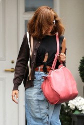 Eva Mendes - Leaving Epione Cosmetic Center in Beverly Hills 5/11/17