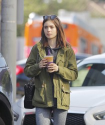 Lily Collins - Out in LA 5/11/17