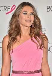 Elizabeth Hurley - The Breast Cancer Research Foundation's 2017 Hot Pink Party in NYC 5/12/17