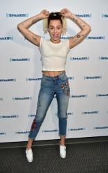 Miley Cyrus - At Sirius XM Studios in LA 5/12/17