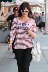 Camilla Belle - Shopping in Beverly Hills 5/12/17