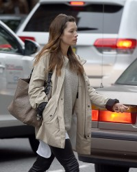 Jessica Biel - Out in NYC 5/12/17