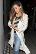 Jessica Alba - Leaving Craig's in West Hollywood 5/12/17