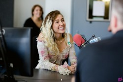 Miley Cyrus - At 104.3 MYfm Studios In LA 5/15/17