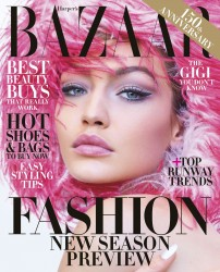 Gigi Hadid -           Harper's Bazaar Magazine June/July 2017 Mariano Vivanco Photos.