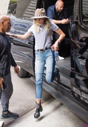 Miley Cyrus - Arriving in NYC 5/15/17